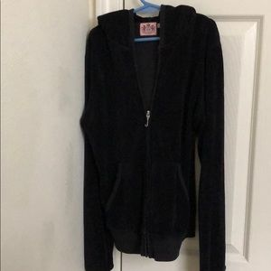 Juicy Couture Luxe Crown Velour Jacket
